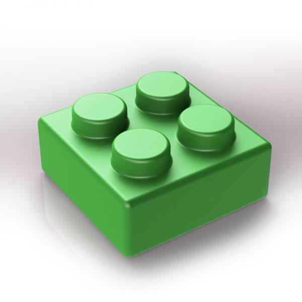 nahradni xxl kostky zelena 4-bodova