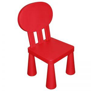 Dětská plastová židle z lehkého a kvalitního materiálu