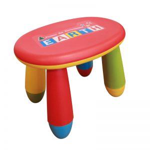 Sada dětského plastového stolu s 2 stoličkami – NERO SET 3