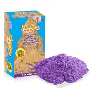 Náhradní balení kinetický písek – fialová barva