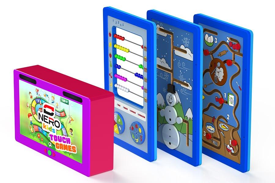 Set interaktivních edukativních her pro děti předškolního věku