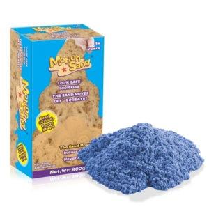 Měsíční písek Náhradní balení – MOTION SAND 800g – modrá barva