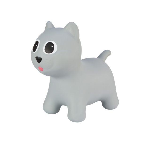 Hoopy kočička šedá- dětské hopsadlo