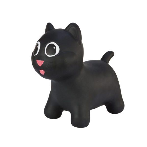 Hoopy kočička černá - dětské hopsadlo