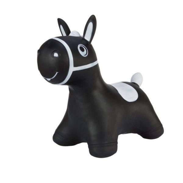 Hoopy koník černý - dětské hopsadlo
