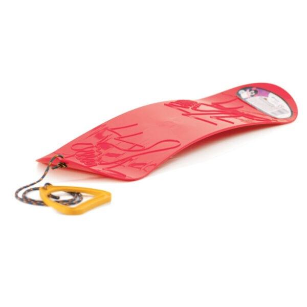 Kluzák snowboard červený