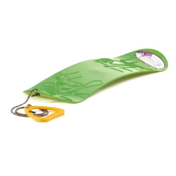 Kluzák snowboard zelený