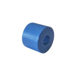 Dřevěný korálek – Válec 1188 20/26/10mm modrá